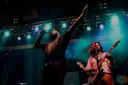 COLUMBUS, OH - Oct. 12 - Bartees Strange performs at Newport Music Hall in Columbus, Ohio on October 12th, 2021. (Photo: Emma Fischer/Aesthetic Magazine)