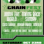 Chain Fest to Take Over FivePoint Amphitheatre on Oct23rd