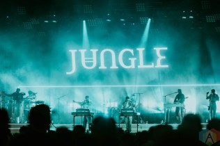 TORONTO, ON - OCTOBER 12 - Jungle performs at CityView in Toronto on October 12, 2021. (Photo: Stephanie Montani/Aesthetic Magazine)