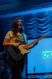 COLUMBUS, OH - Oct. 12 - Lucy Dacus performs at Newport Music Hall in Columbus, Ohio on October 12th, 2021. (Photo: Emma Fischer/Aesthetic Magazine)