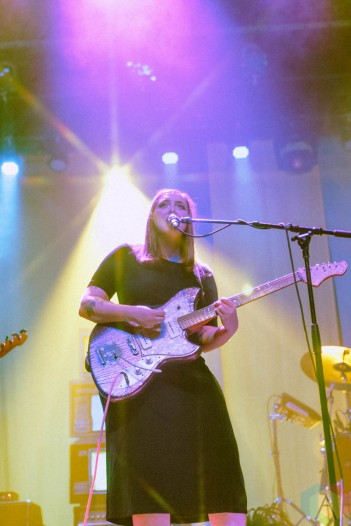 CHICAGO, IL - SEPT 29: Soccer Mommy performs at the Thalia Hall in Chicago on September 29, 2021. (Photo: Jenna Whalen/Aesthetic Magazine)